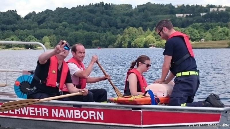 Erste Hilfe auf dem Boot